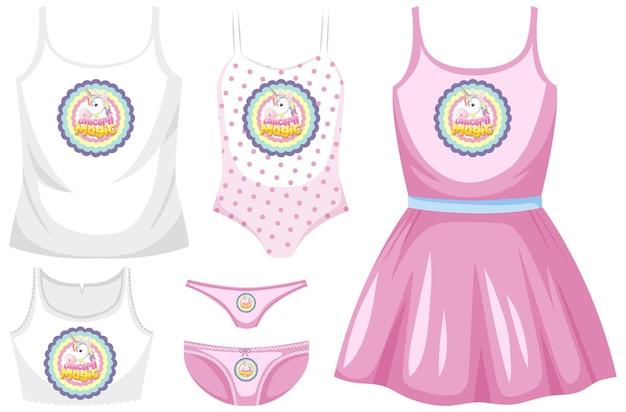 Set di abiti da ragazza