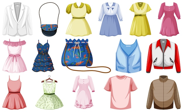 Set di abiti di moda