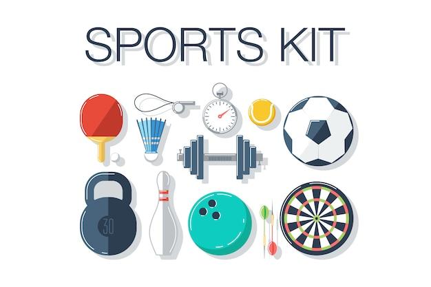 Set di accessori sportivi