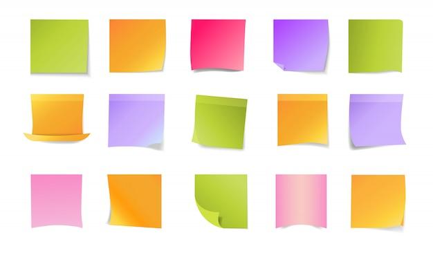Set di adesivi per ufficio