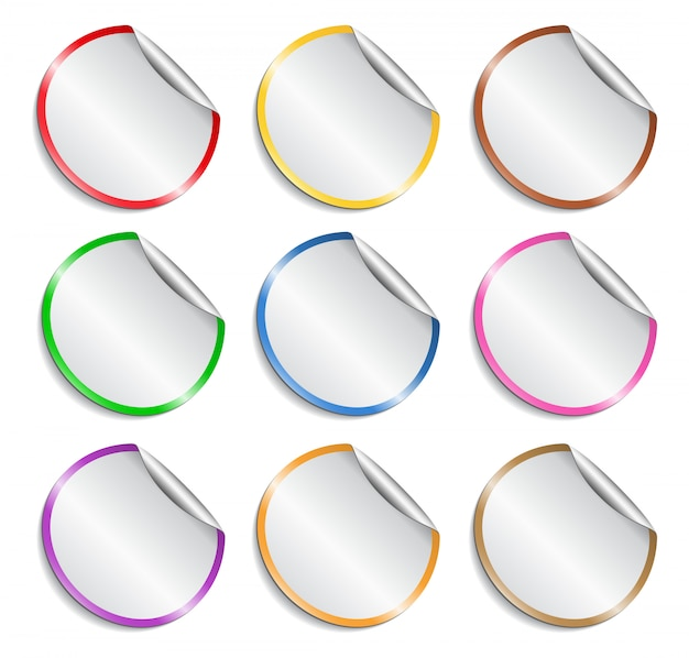 Set di adesivi