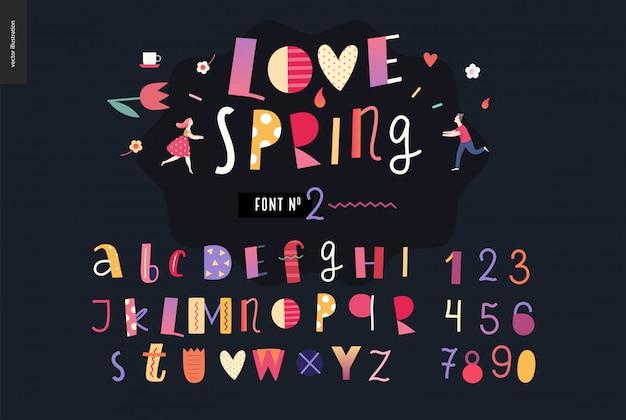 Set di alfabeto piatto bambini