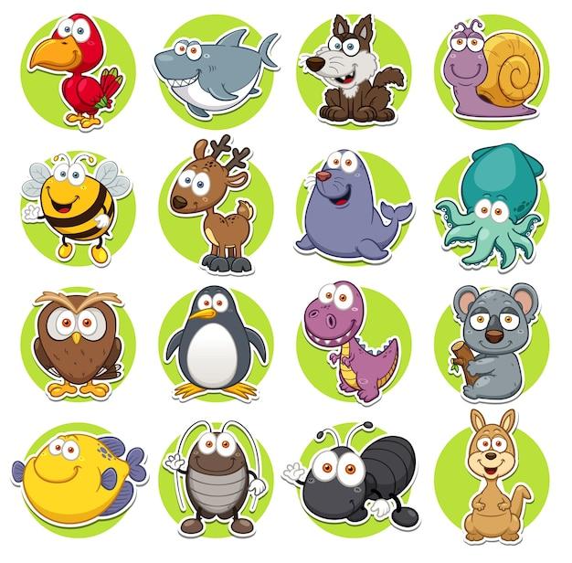 Set di animali