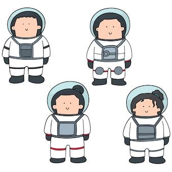 Set di astronauta