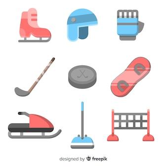 Set di attrezzatura per sport invernali