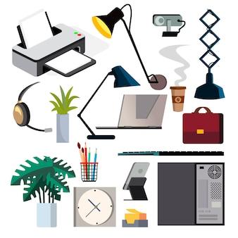 Set di attrezzature per ufficio