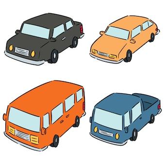 Set di automobili