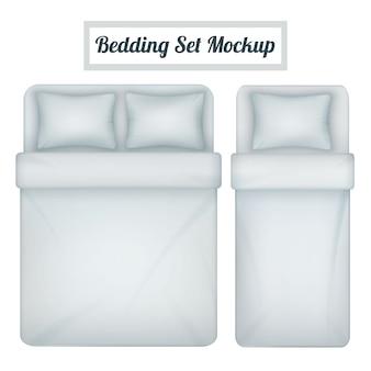 Set di biancheria da letto realistico