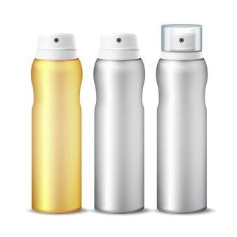 Set di bombolette spray realistico