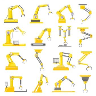 Set di bracci meccanici