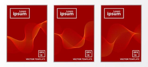 Set di brochure aziendali minimi