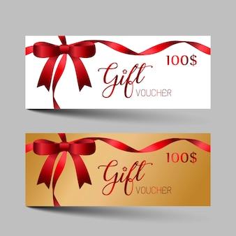 Set di buoni regalo di lusso di san valentino.