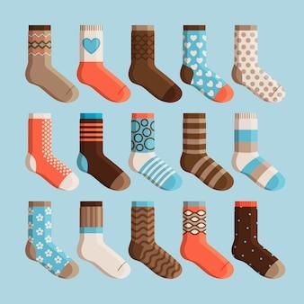 Set di calzini svegli per bambini colorati