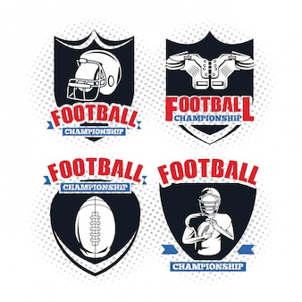 Set di campionato di calcio