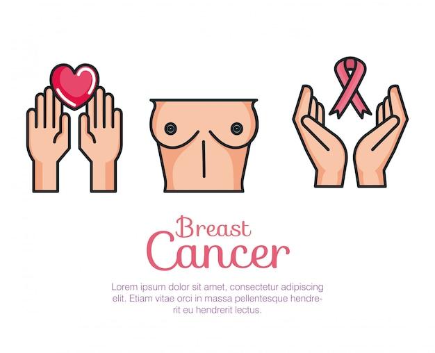 Set di cancro al seno