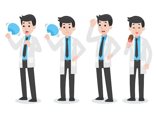 Set di carattere medico