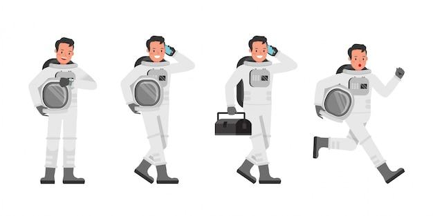 Set di caratteri astronauta