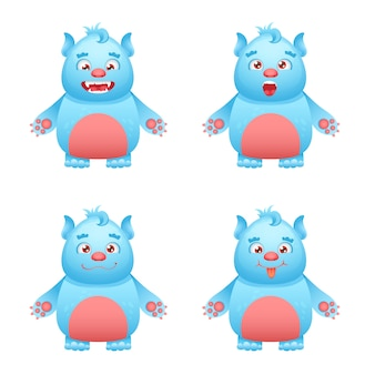 Set di caratteri del mostro