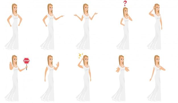 Set di caratteri della sposa