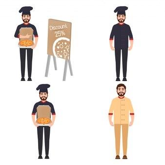 Set di caratteri dello chef