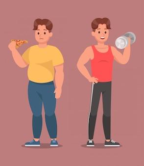 Set di caratteri di fitness