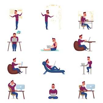 Set di caratteri freelance