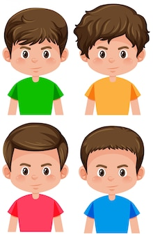 Set di caratteri maschili
