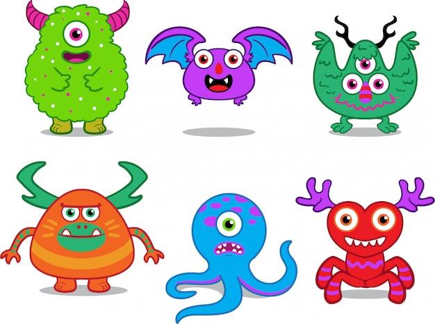 Set di caratteri mostro