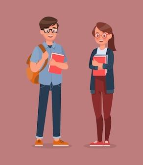 Set di caratteri per studenti