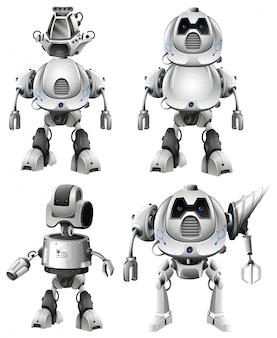 Set di caratteri robot