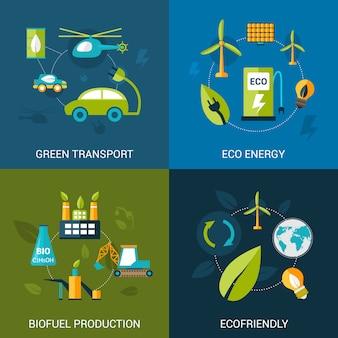 Set di carburante biologico