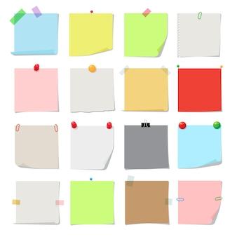 Set di carta per appunti