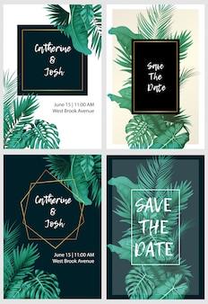 Set di carte floreali