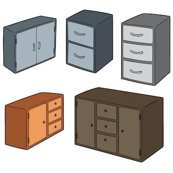 Set di cassetti