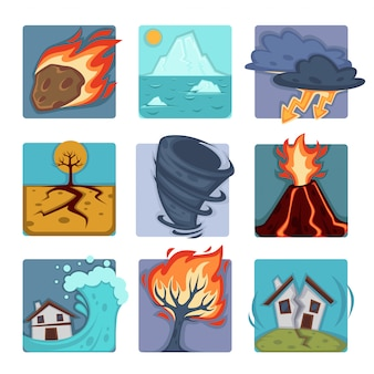 Set di catastrofi naturali