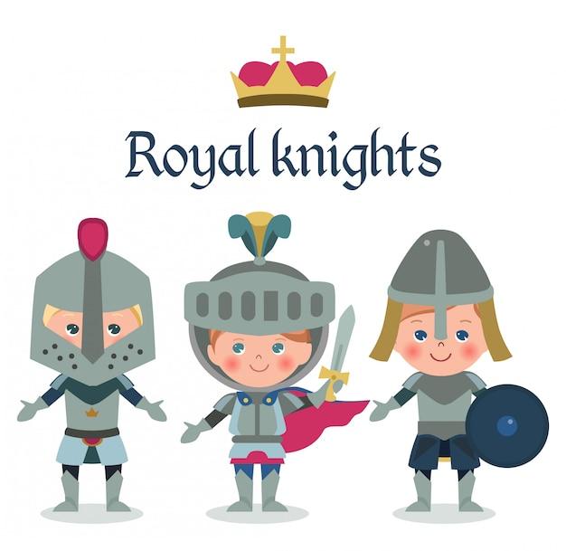 Set di cavalieri reali.