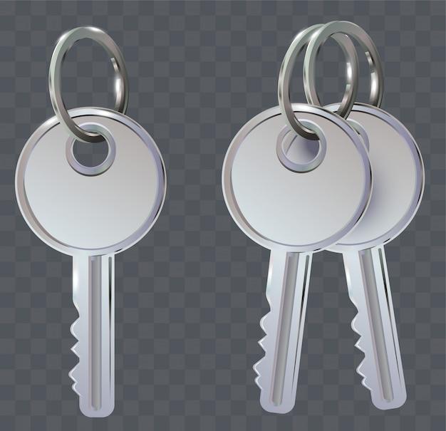 Set di chiavi su anello