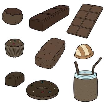 Set di cioccolato
