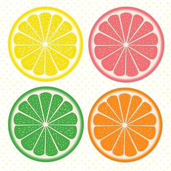 Set di citrus