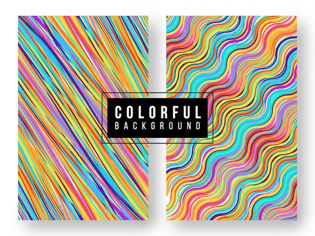 Set di colori di sfondo