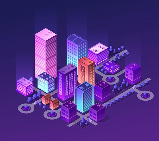 Set di colori viola
