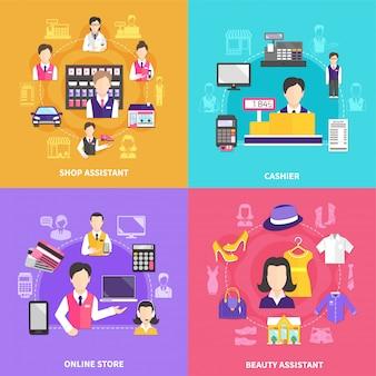 Set di composizione shopfolk