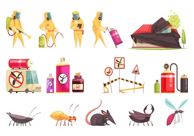 Set di controllo dei parassiti di disinfezione