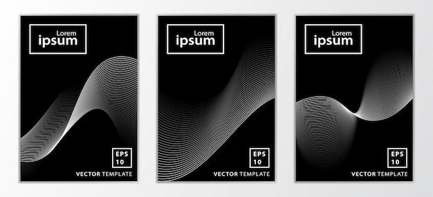 Set di copertina brochure aziendale minima