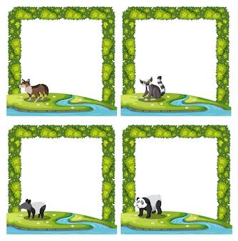 Set di cornice per animali