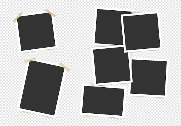 Set di cornice per foto.