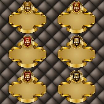 Set di cornici decorate