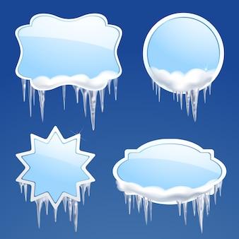 Set di cornici per icicle