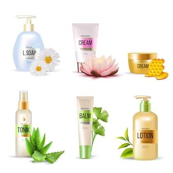 Set di cosmetici biologici