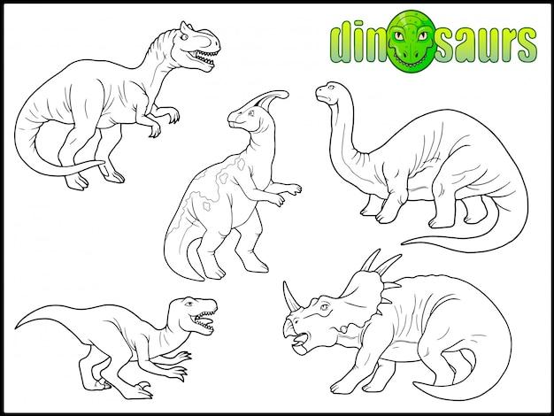 Set di dinosauri